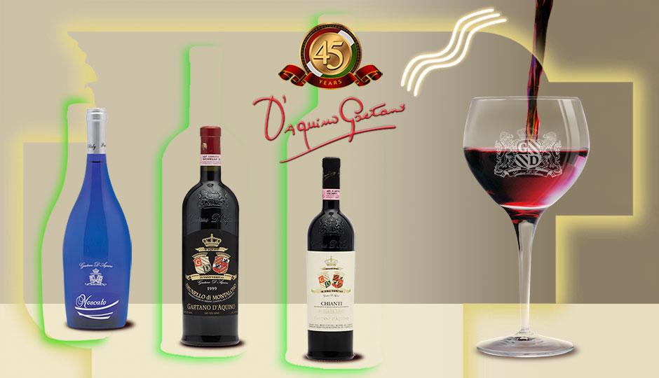 D'Aquino Family — Imported Italian Wines and Foods, California